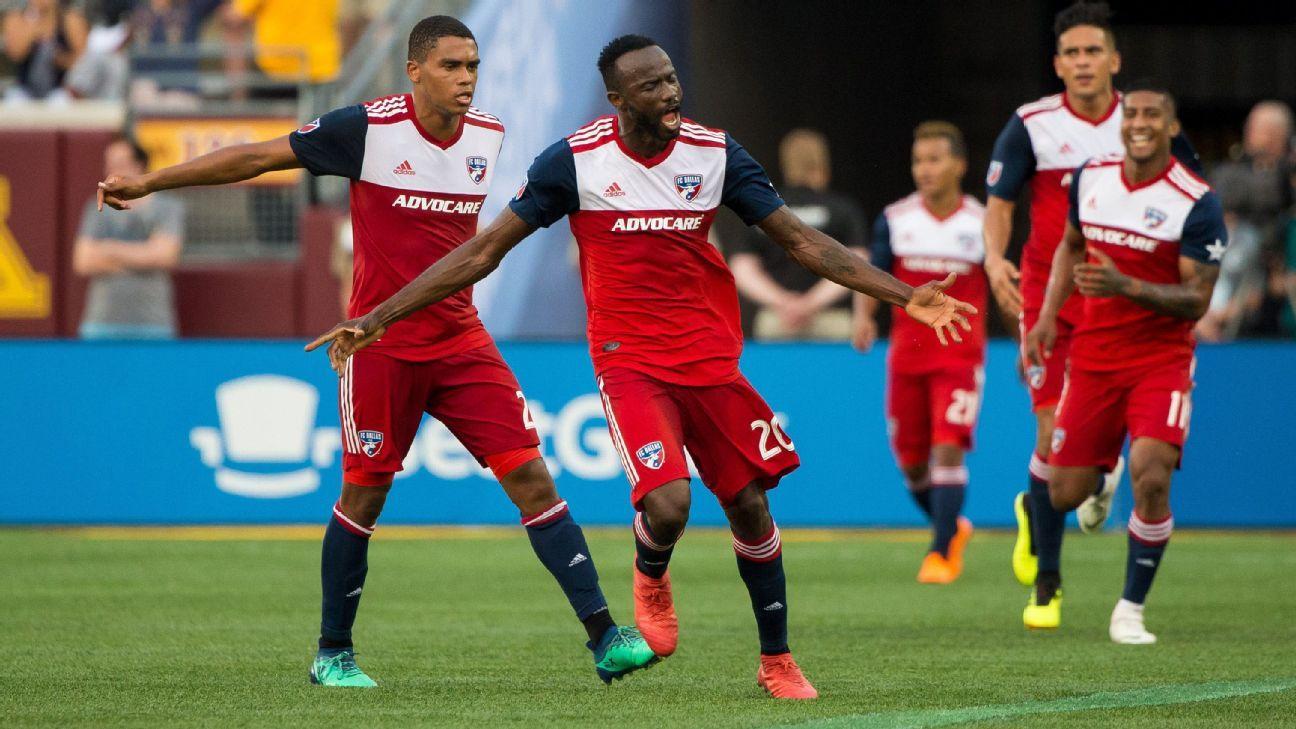 Roland Lamah header lifts FC Dallas past Minnesota United