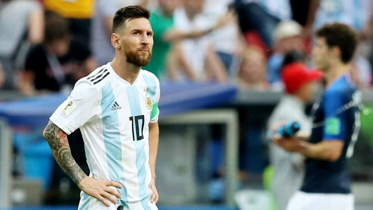 Lionel Messi and Argentina struggled in Russia, losing to eventual champion France in the round of 16.