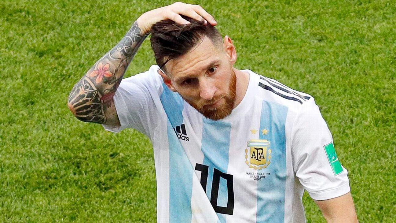 Lionel Messi had a disappointing World Cup with Argentina.