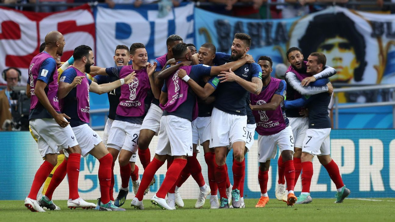 France are through to the World Cup quarterfinals after a thrilling win against Argentina.