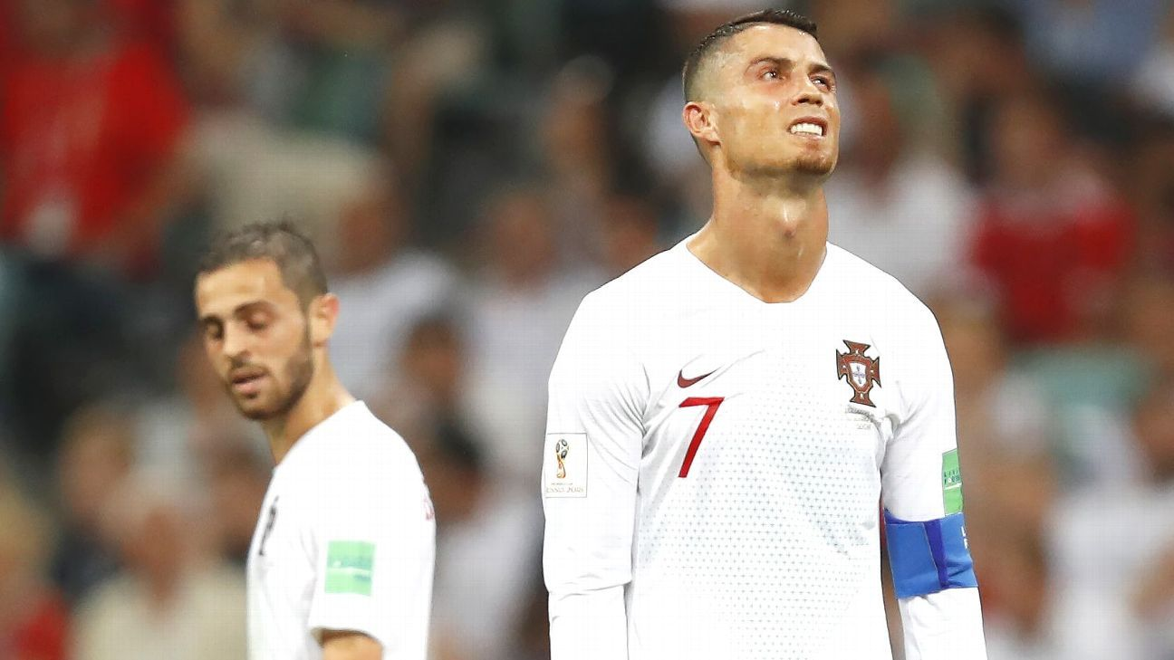 Cristiano Ronaldo and Portugal couldn't get anything going in attack vs. stingy Uruguay.