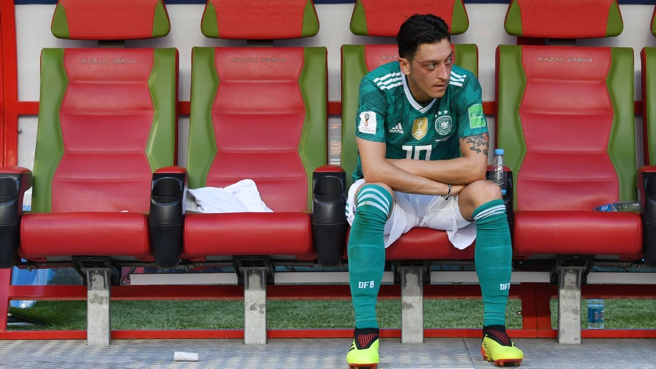 Following criticism before, during and after the World Cup, will Mesut Ozil continue to play for Germany?