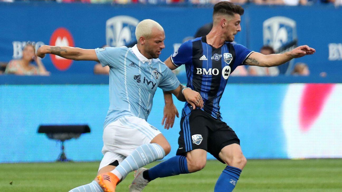 Ignacio Piatti on target as Montreal ends Sporting KC's unbeaten run