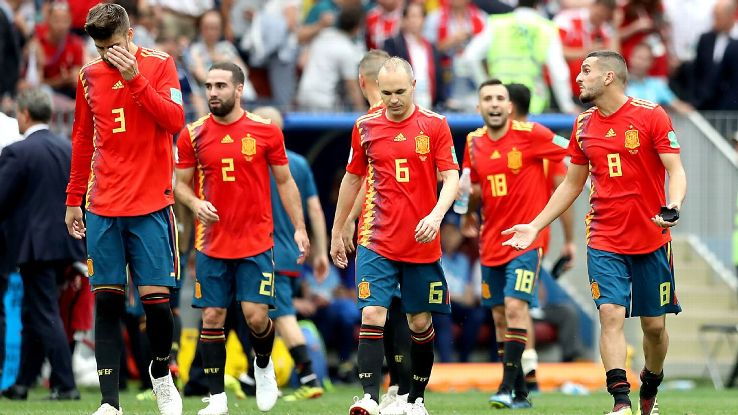 Spain had the World Cup at their mercy given a gentle side of the bracket but they were deservedly eliminated.