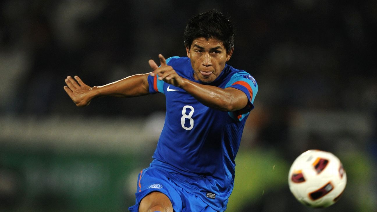 Renedy Singh played for India in the 2002 Asian Games.