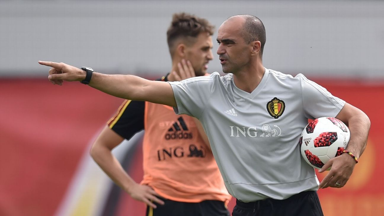 Spain can go after Roberto Martinez if Belgium win the World Cup - Belgian FA