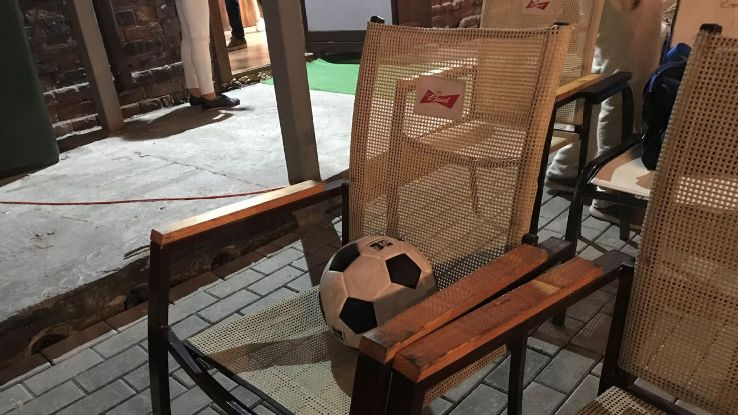 How seats are reserved at BBB bar in Irkutsk