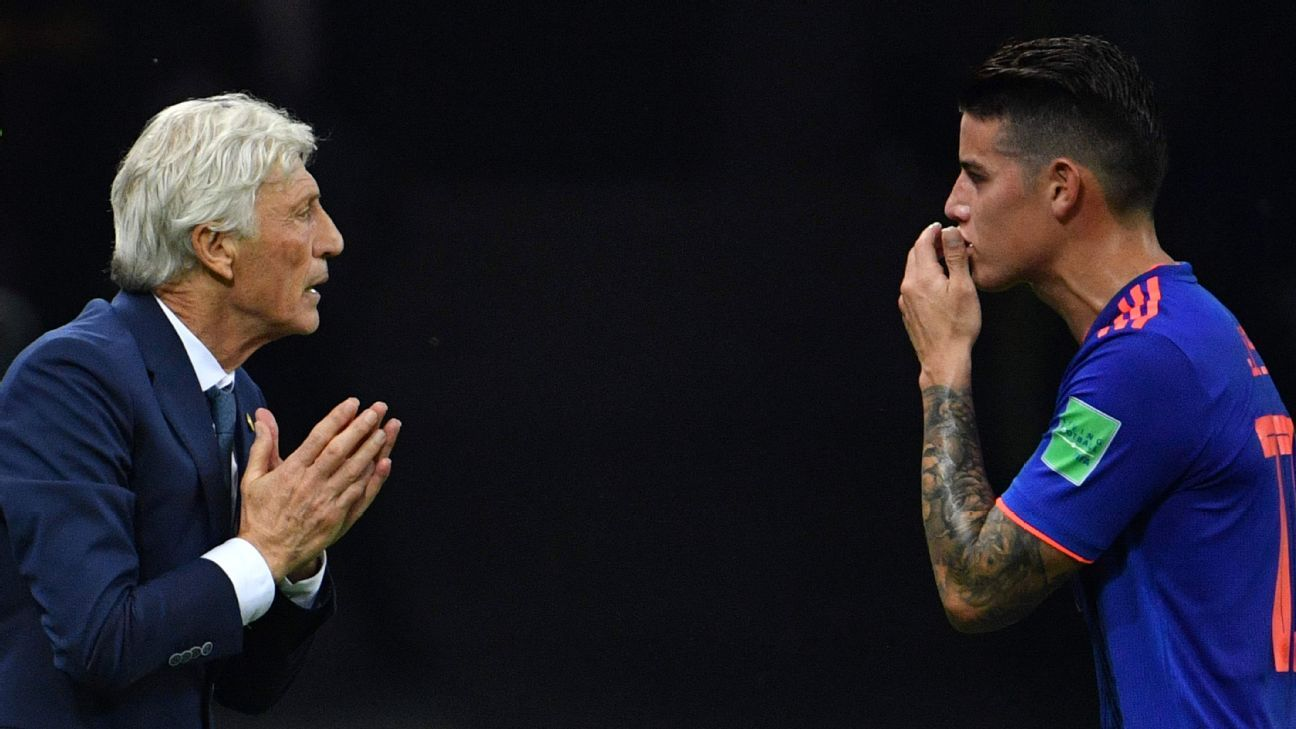 Jose Pekerman & James Rodriguez