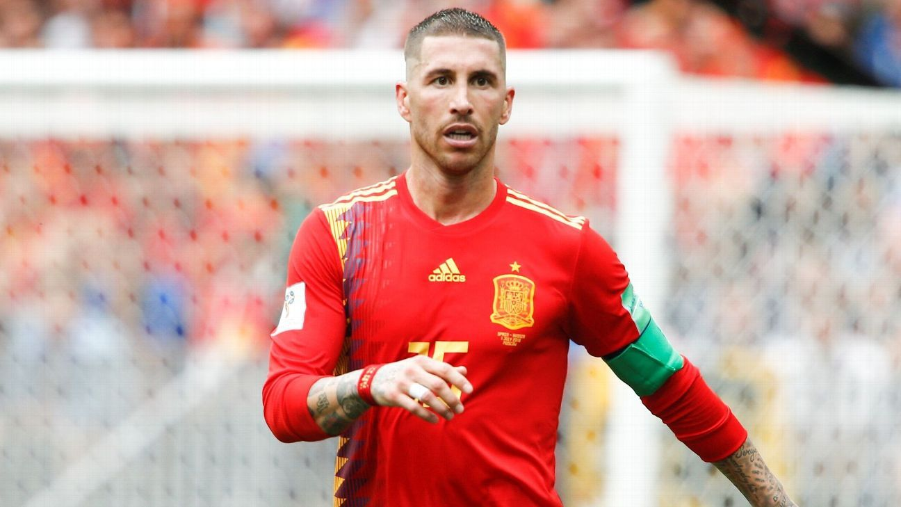 Sergio Ramos wants to continue with Spain despite their unexpected World Cup exit against Russia.
