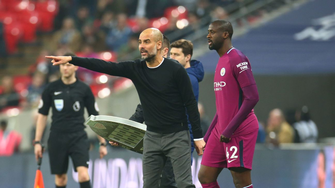 Pep Guardiola and Yaya Toure's relationship deteriorated over the past year, to the point where the Ivory Coast man accused the manager of having a 'problem with Africans'.