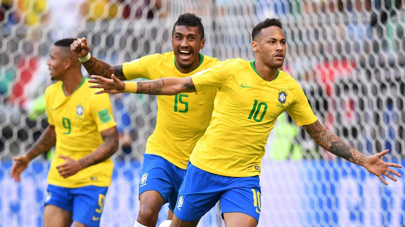 Neymar picked the perfect time to shine at this World Cup as Brazil edged past Mexico to reach the quarterfinals.
