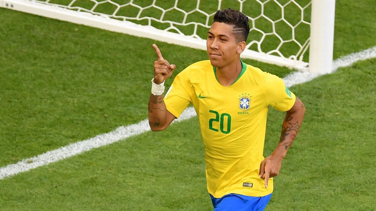 Brazil's Roberto Firmino
