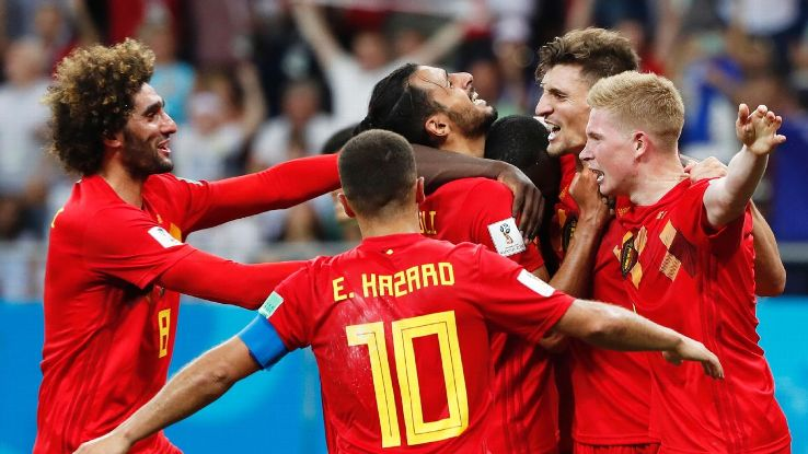 Belgium rallied in style from 2-0 down to complete a most memorable of comebacks over Japan in Rostov.