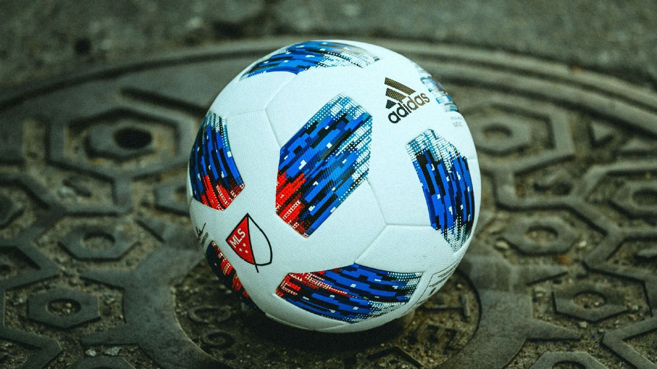 Adidas' Nativo is the match ball used around MLS in 2018.