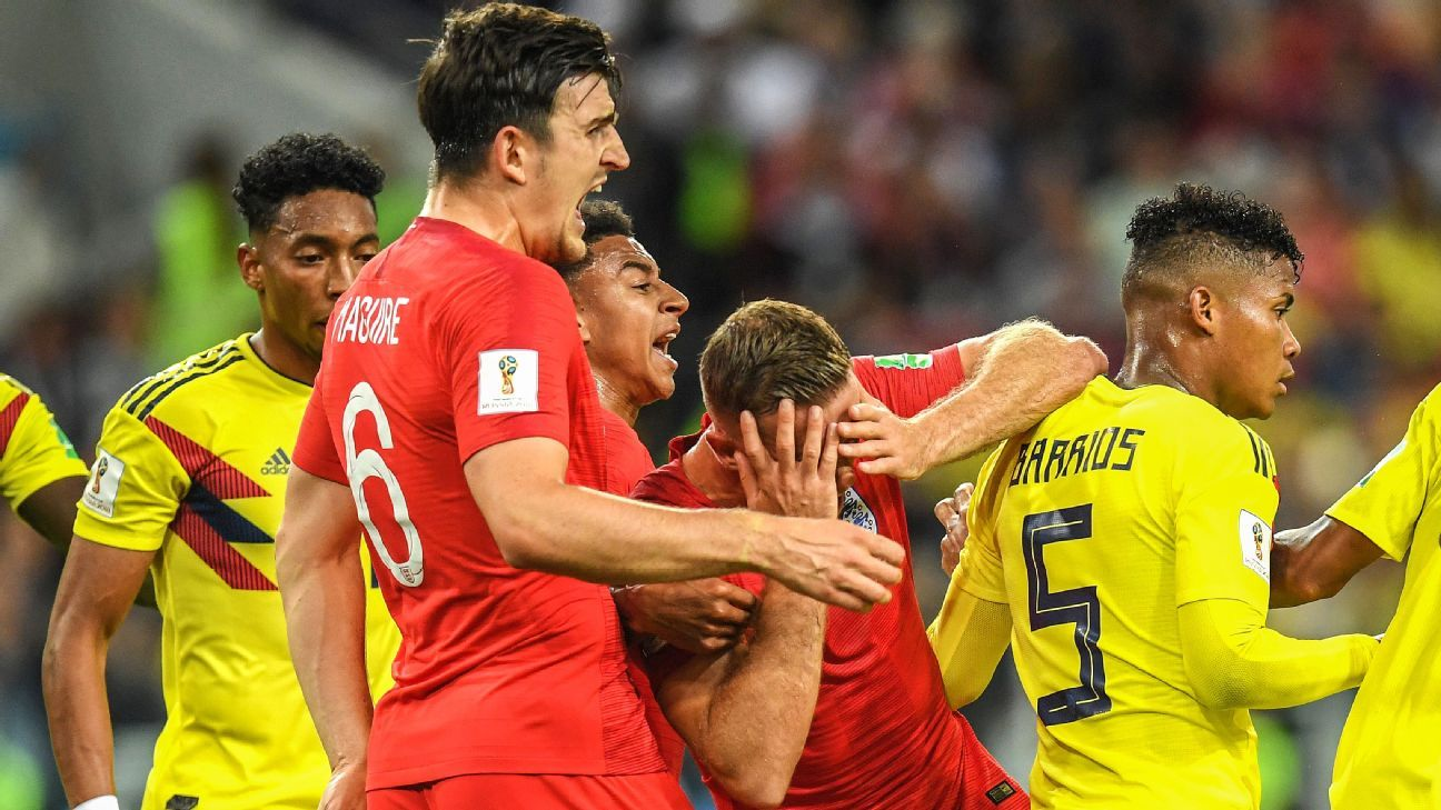 England's gamesmanship vs. Colombia 'about being clever' - Kieran Trippier