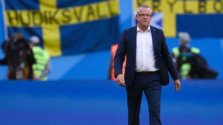 Janne Andersson was the architect of Sweden's win vs. Switzerland.