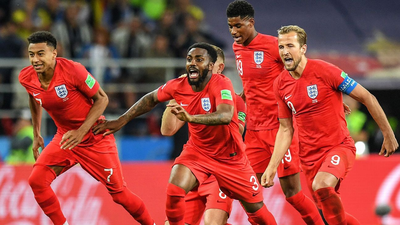 After a night of drama, England found a way to stay in the World Cup.
