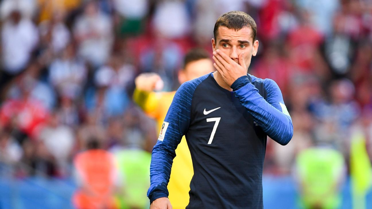 France's 'half-Uruguayan' Antoine Griezmann set for emotional QF vs. friend Diego Godin