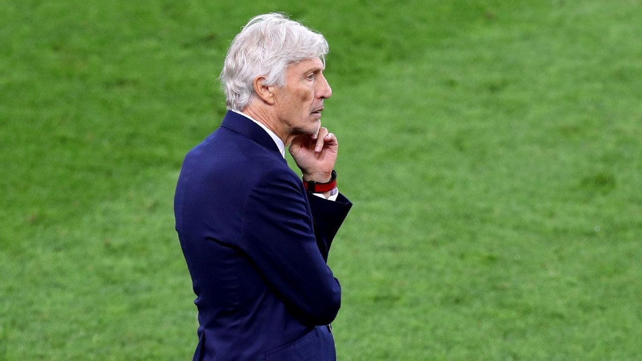Jose Pekerman seemed more in fear of England than confident in his own side.