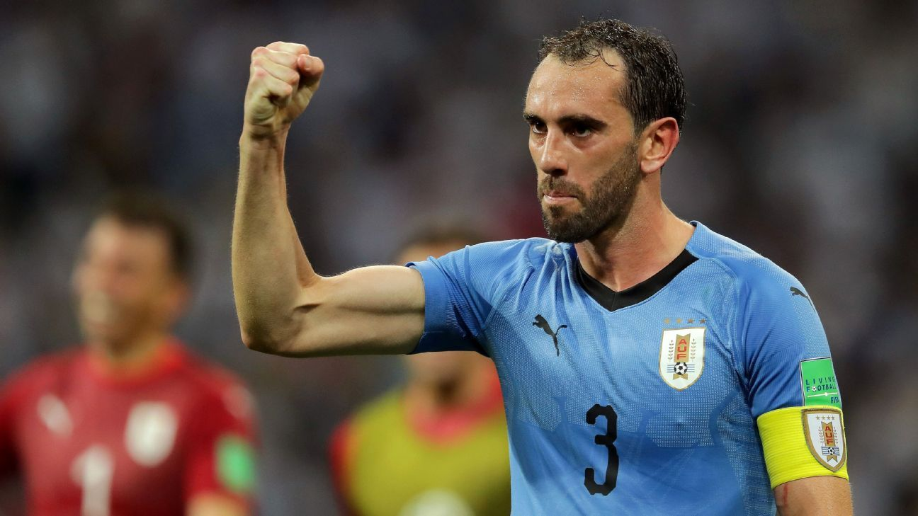 Uruguay's Diego Godin showing at World Cup that he's the best defender in football