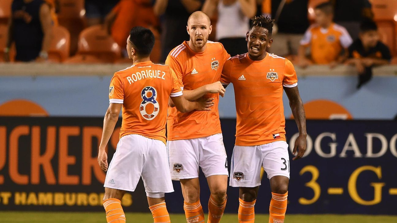 Philippe Senderos, Houston Dynamo salvages late draw with LAFC