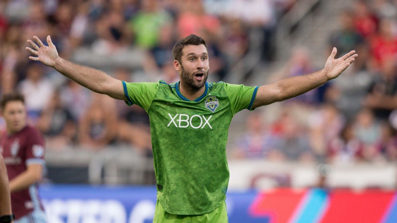 Will Bruin hits two to help the Seattle Sounders edge the Colorado Rapids