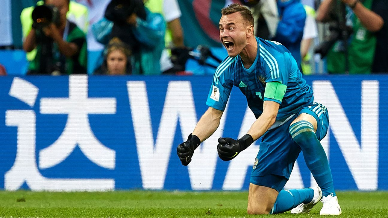 Russia's World Cup star and captain Igor Akinfeev has finally proved his critics wrong