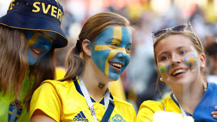 The large, and noisy, presence of Swedish fans was fitting: This city – then a small town - was wrested from the Swedes in the early 18th century by Tsar Peter the Great.