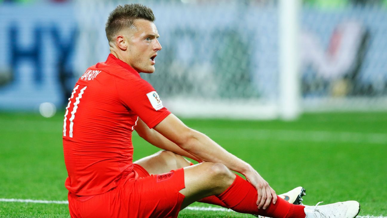England's Jamie Vardy 'looking doubtful' to face Sweden - Southgate