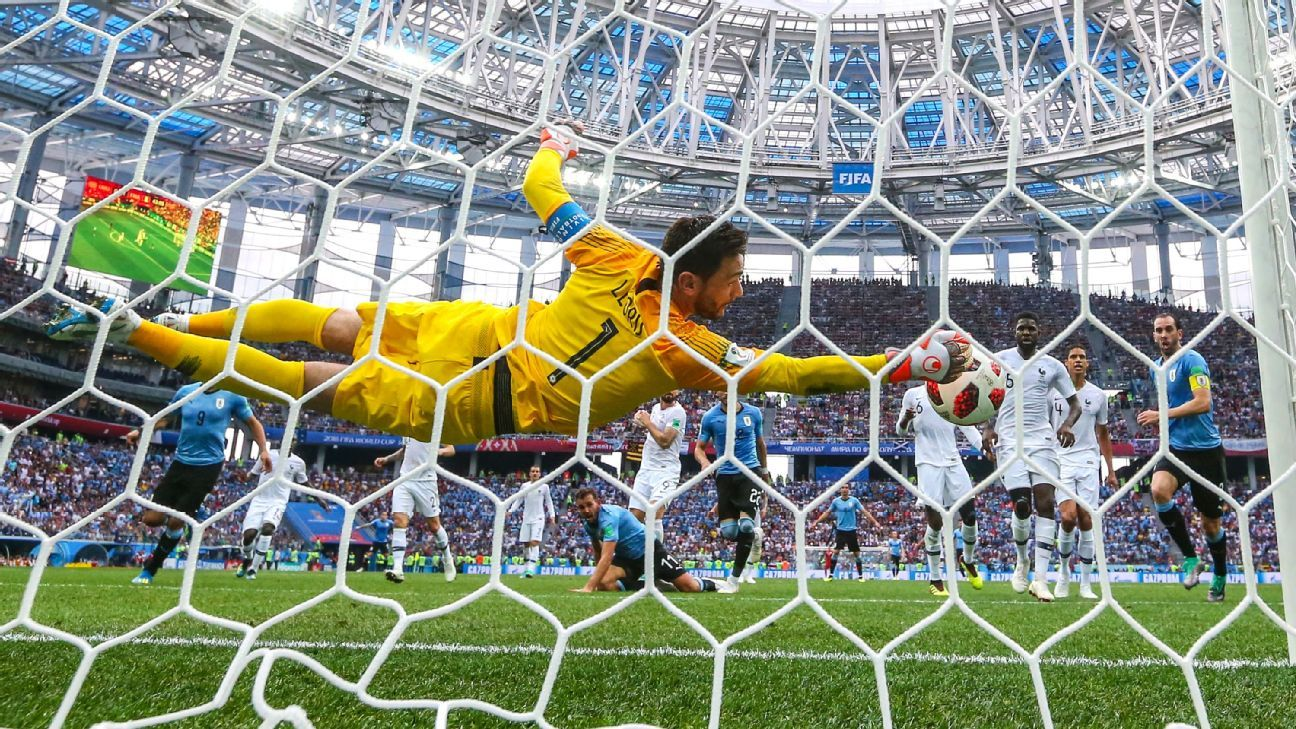 Lloris' wonder save earns 8/10 for France in World Cup win over Uruguay