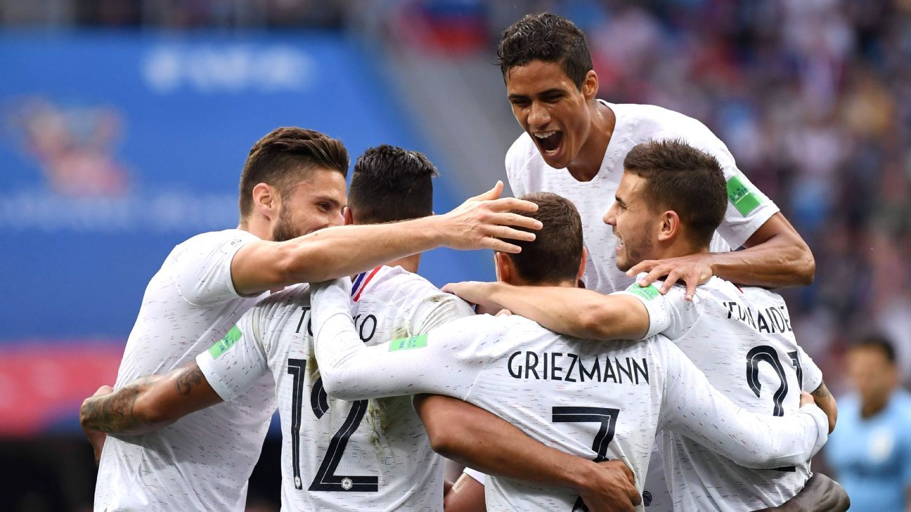 France and Griezmann showed sufficient grit and guile to defeat Uruguay in the World Cup quarterfinal.