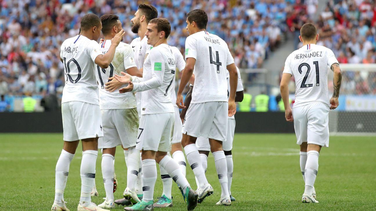 Antoine Griezmann explains his lack of celebration vs. Uruguay 'friends'