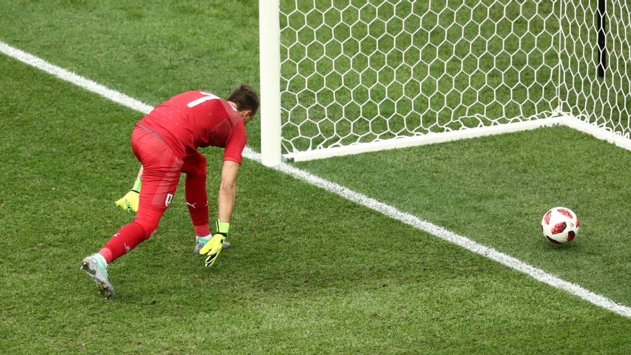 Fernando Muslera was at fault as Antoine Griezmann's harmless effort made it 2-0 France.