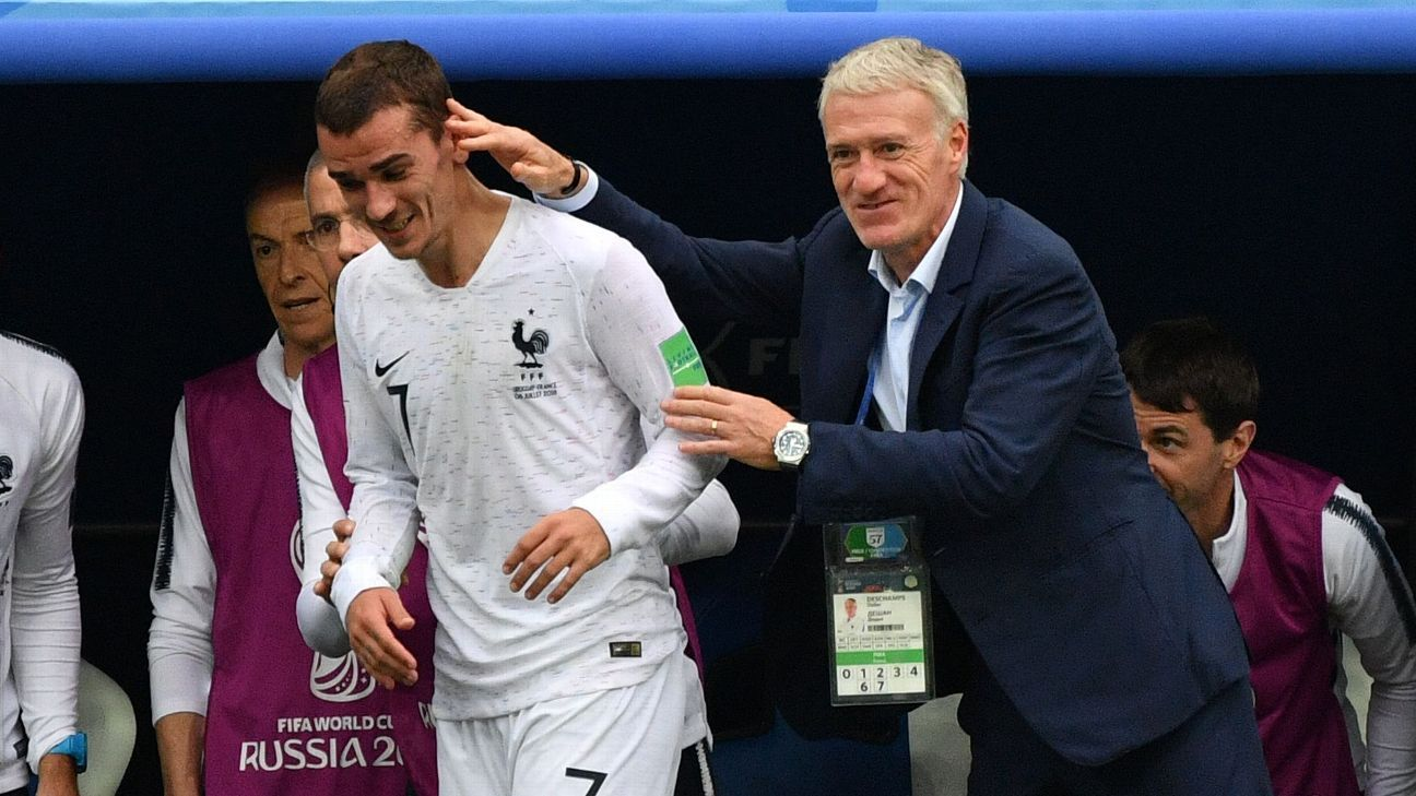 Deschamps and France haven't come close to hitting top gear at the 2018 World Cup but they will need to try as they prepare for a semifinal.