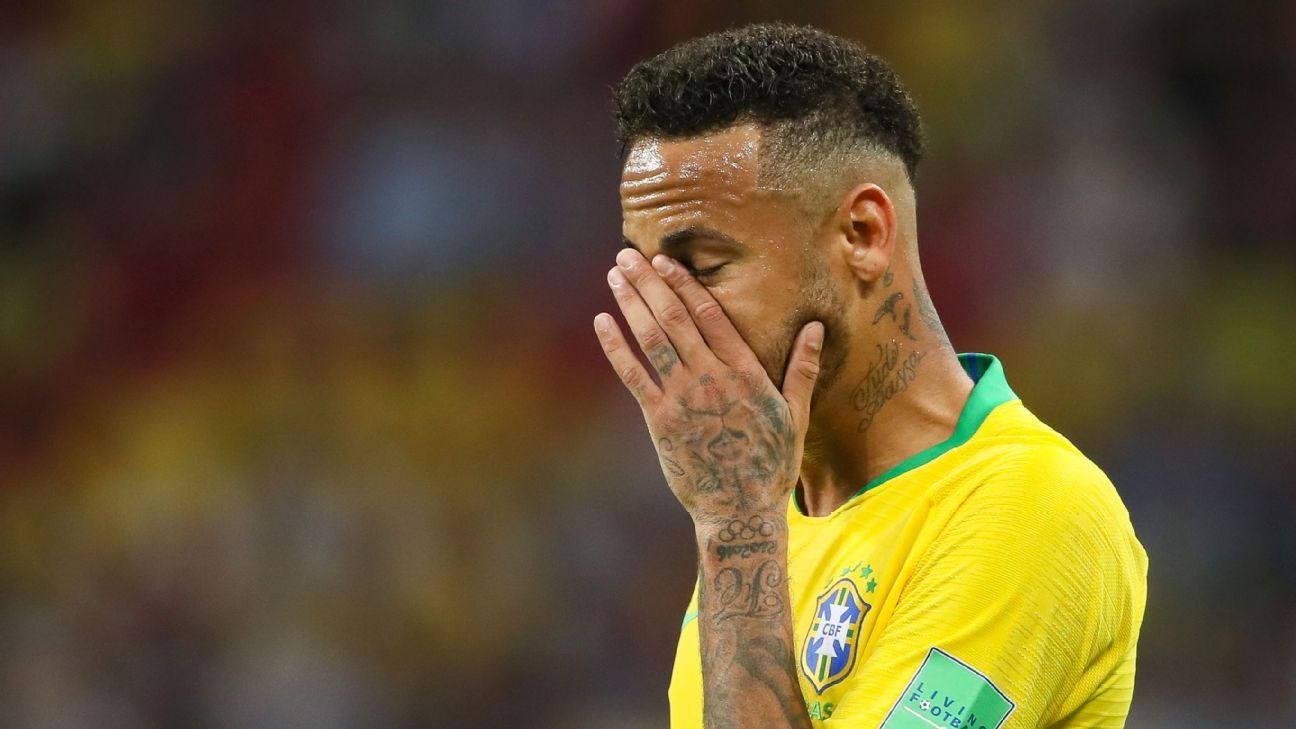 PSG star Neymar says he is victim of 'double standards' for club and country