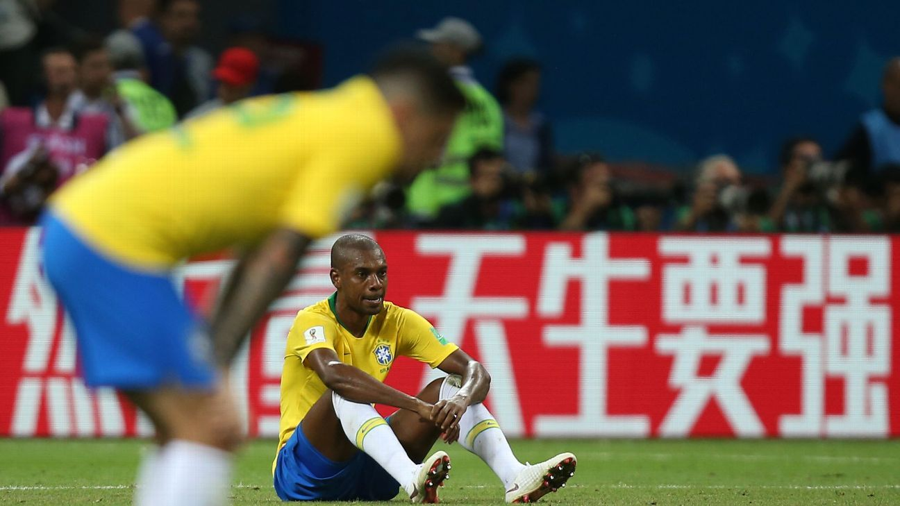 Filling in for the suspended Casemiro, Fernandinho had a nightmare vs. Belgium.