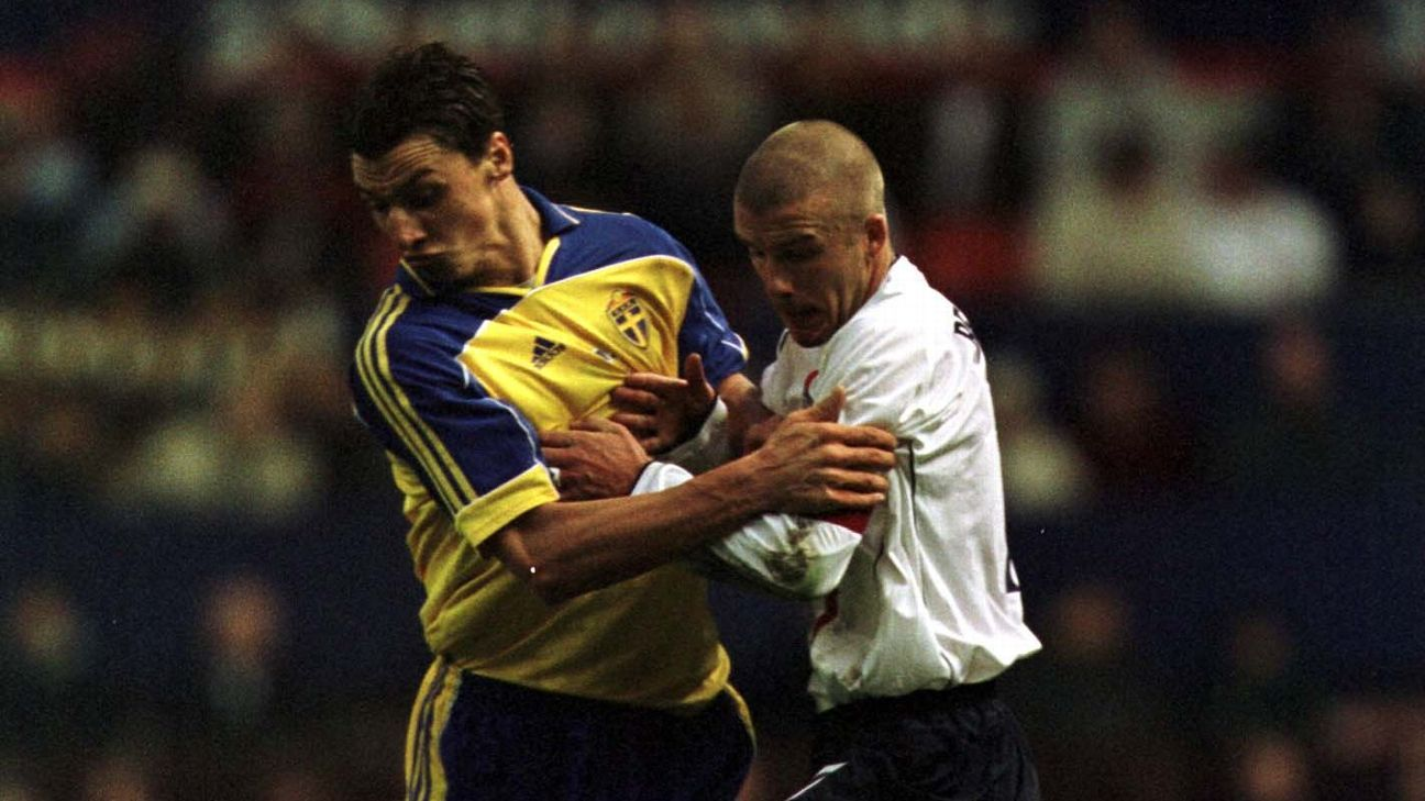 Good friends Zlatan Ibrahimovic and David Beckham have faced off before.