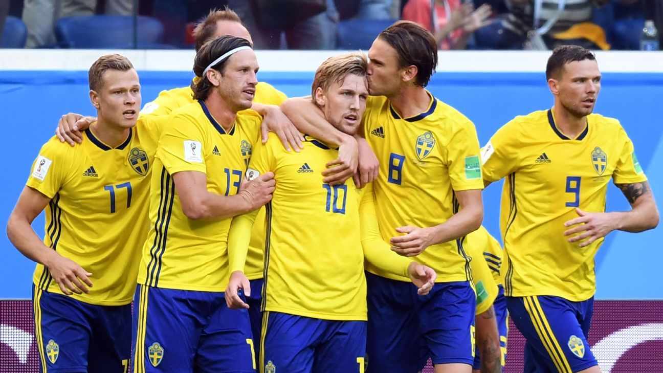 Sweden have not reached a World Cup semifinal since 1994.