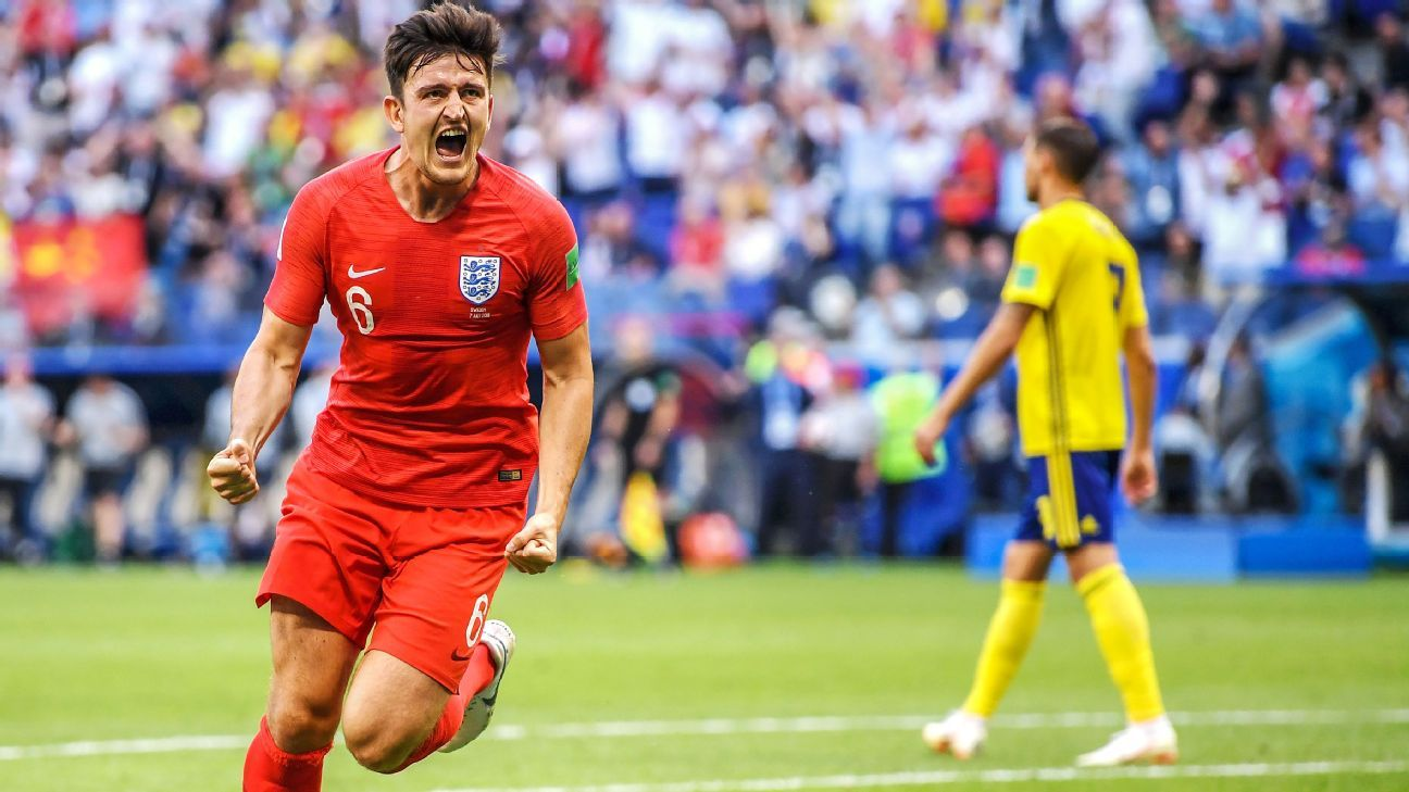 Harry Maguire picked a brilliant time to score his first goal for England.