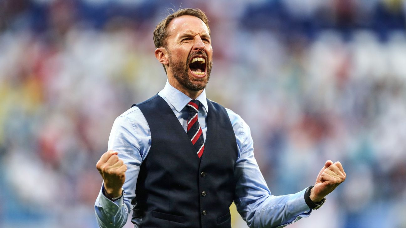 Gareth Southgate led England to the semifinals of the World Cup in Russia.
