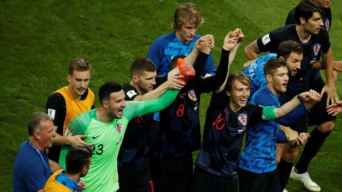 Croatia's resilience has been on full display at the 2018 World Cup, as was proven by their second straight win on penalties.