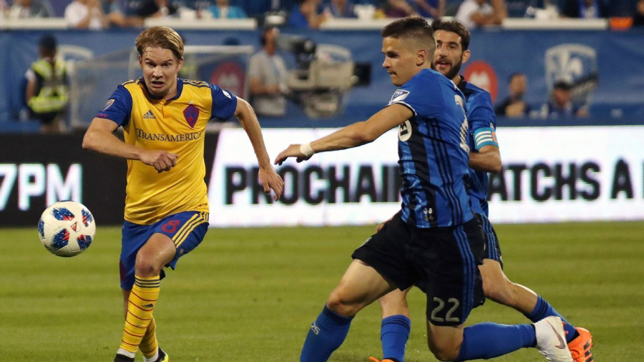 Saphir Taider's double leads the Montreal Impact past the Colorado Rapids