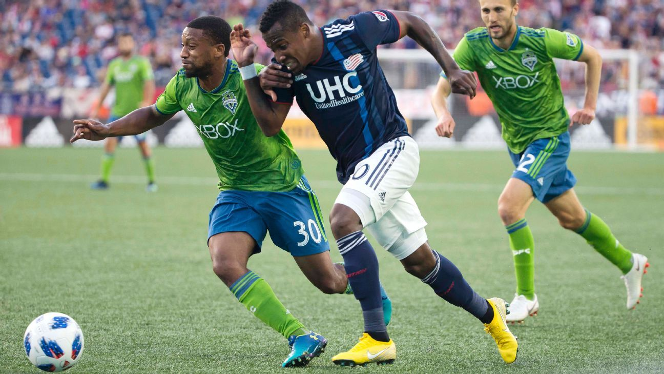 Seattle Sounders hold red-hot New England Revolution to draw