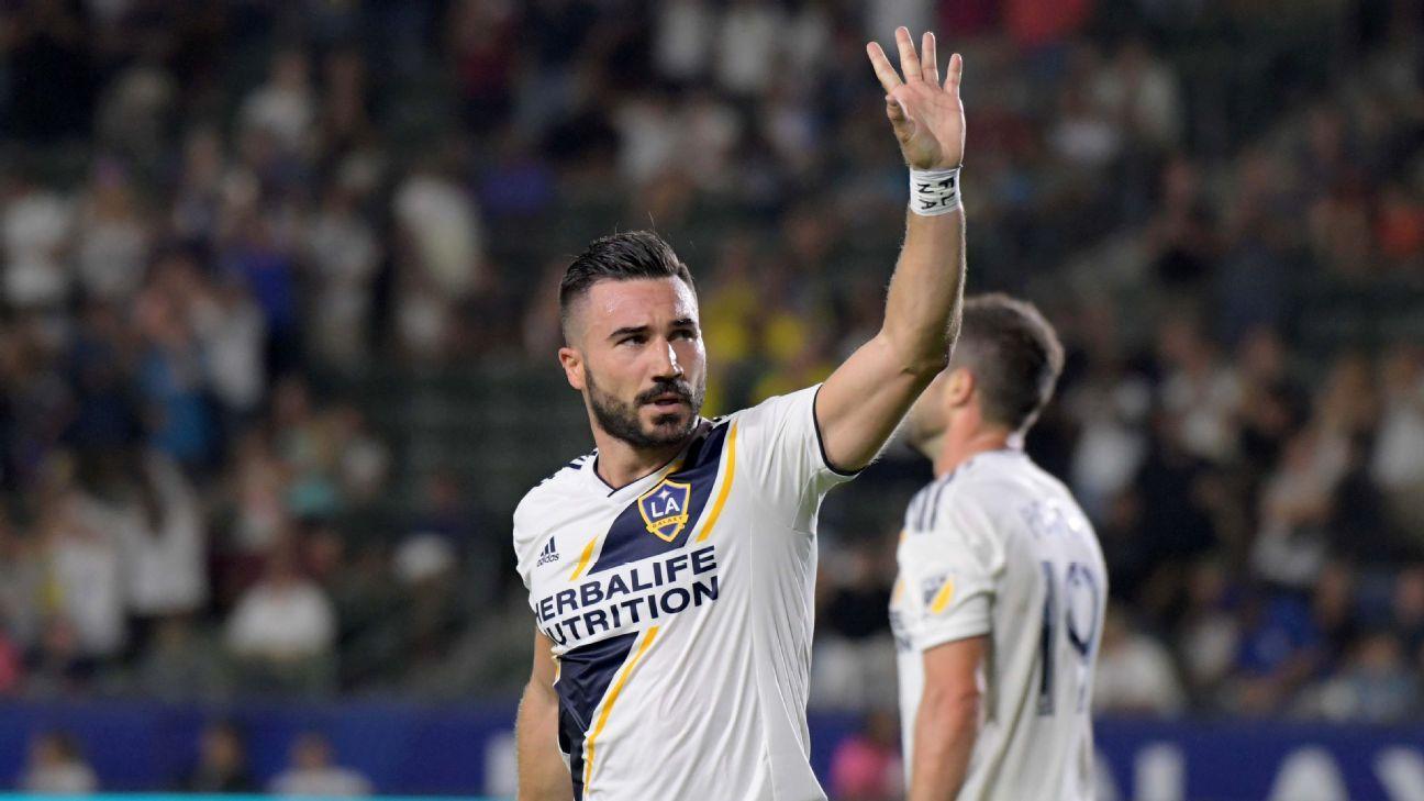 LA Galaxy could be without Dos Santos, Alessandrini against Colorado