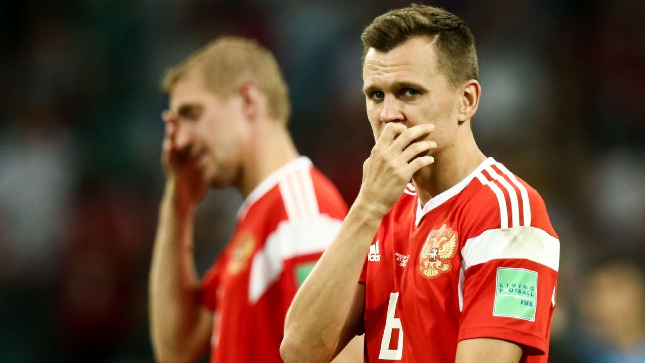 Denis Cheryshev's goal against Croatia was his third of the World Cup for Russia