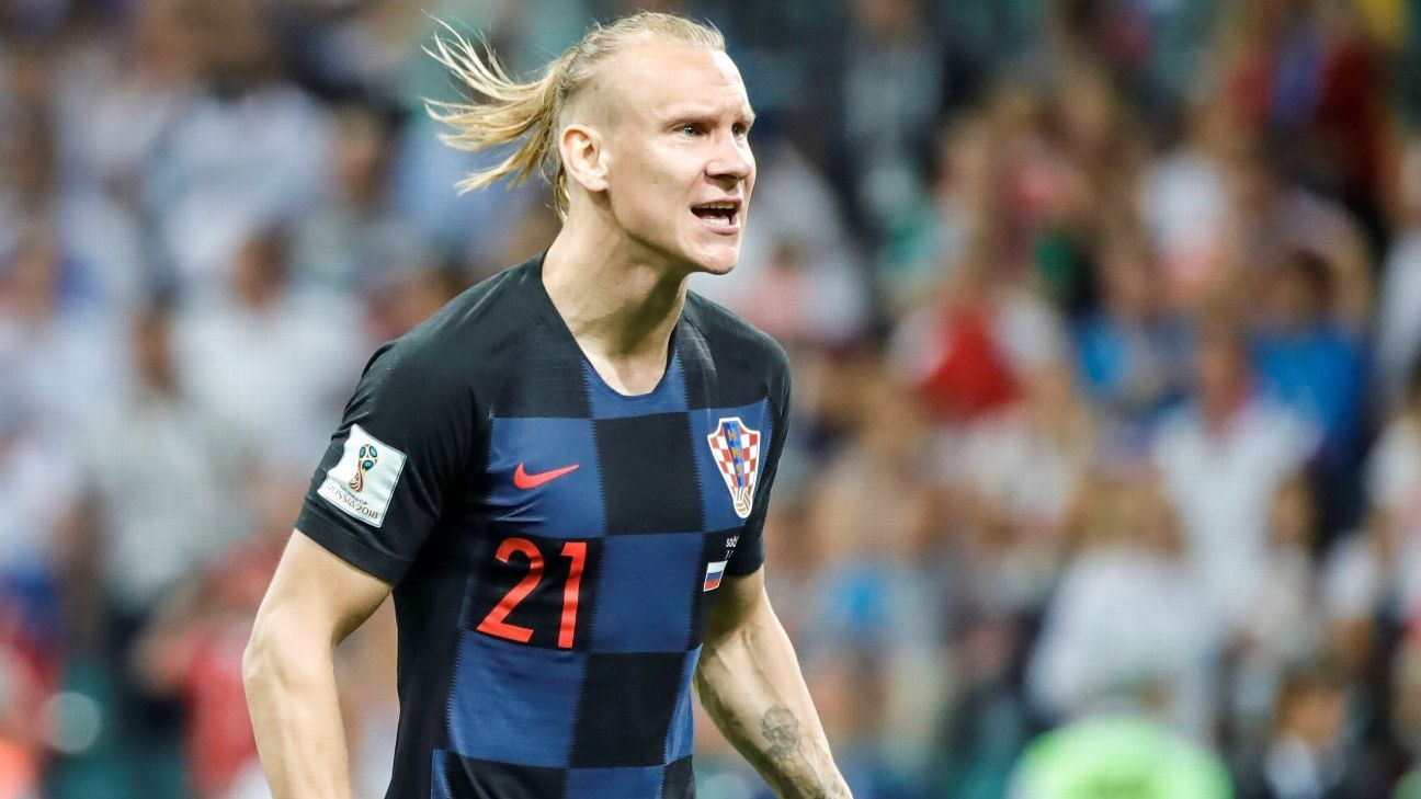 Croatia defender Domagoj Vida spent five years as a player at Dynamo Kiev.