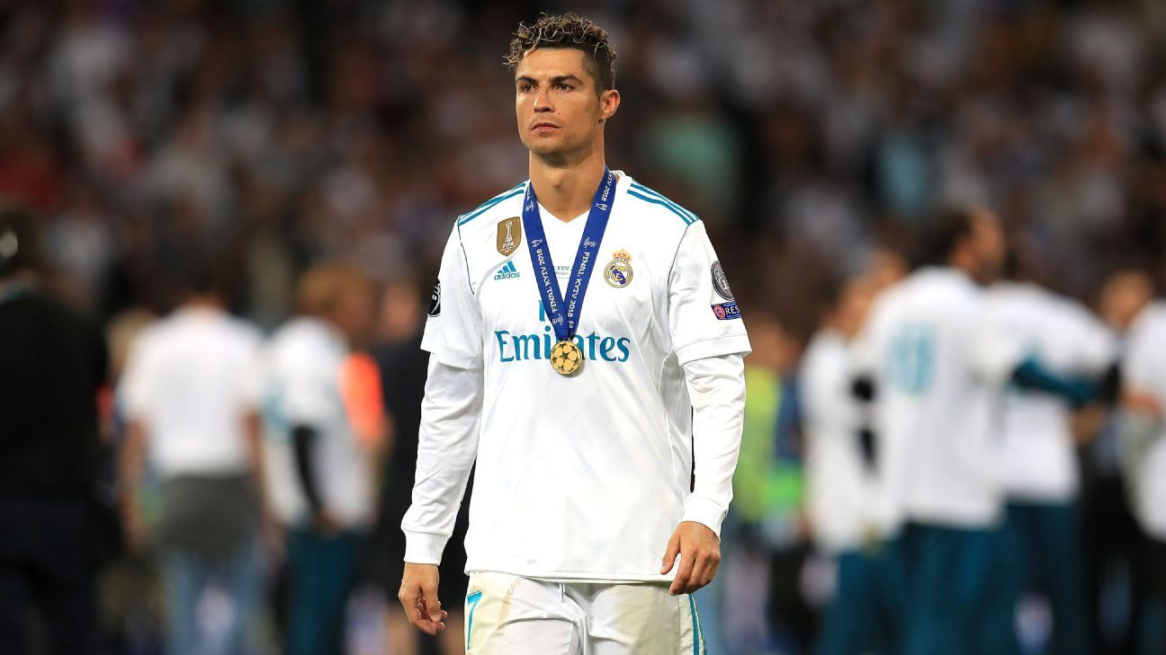 Cristiano Ronaldo has won four of his five career Champions League titles at Real Madrid.