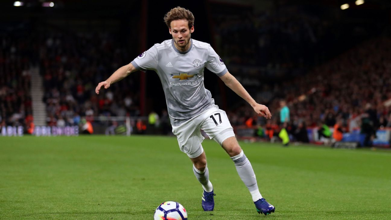 Daley Blind has been out of favour at Manchester United.