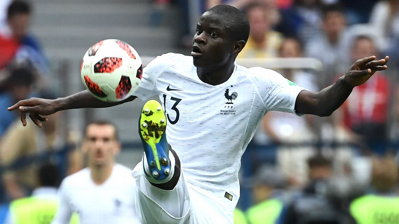 N'Golo Kante has been one of the breakout stars of the 2018 World Cup and if France win it all, he'll have played a major part.