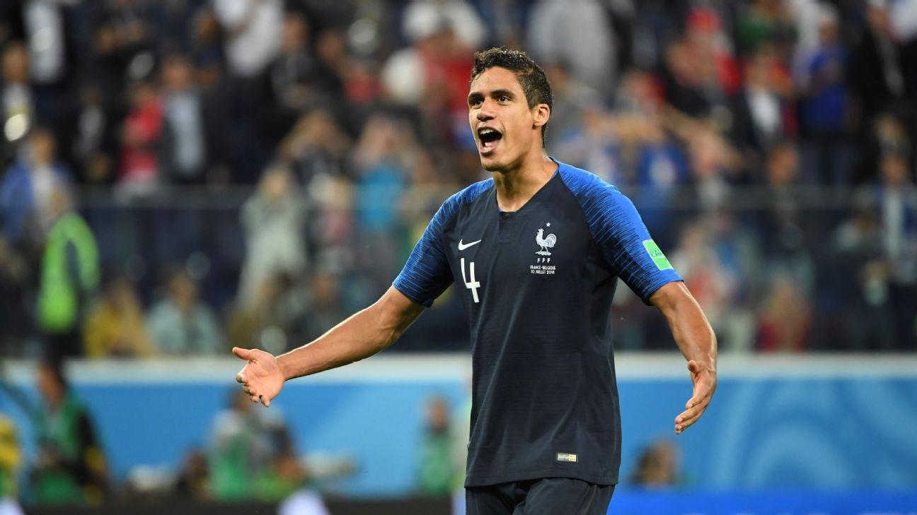 Samuel Umtiti scored the goal but Raphael Varane was France's best player vs. Belgium.